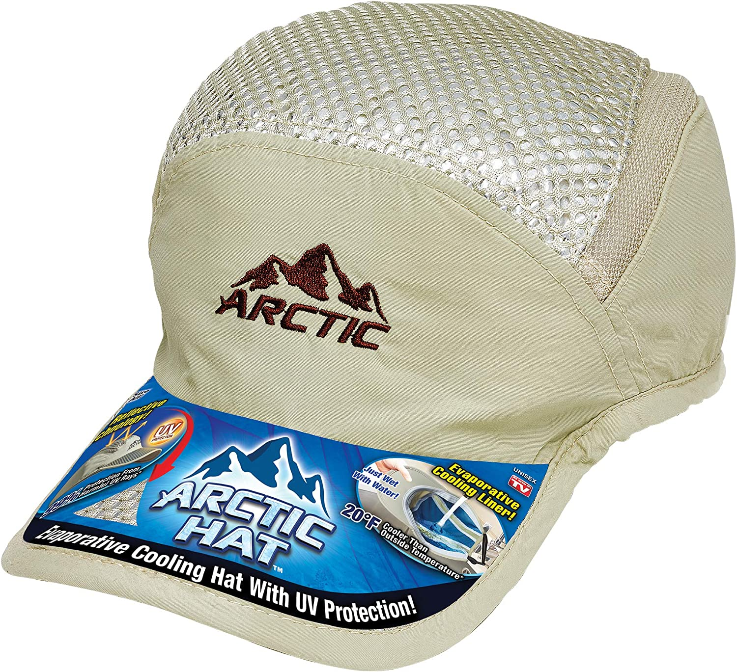 Ontel Arctic Cap, Beige, Adjustable