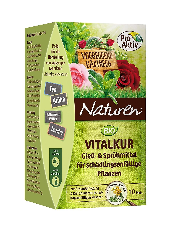 Naturen Bio Vitalkur Pflanzenstärkungsmittel zum gießen und sprühen für pilzanfällige Pflanzen mit Kräutermischung, 10 Pads SCOTTS CELAFLOR GMBH de lawn and garden SCPPP 7021
