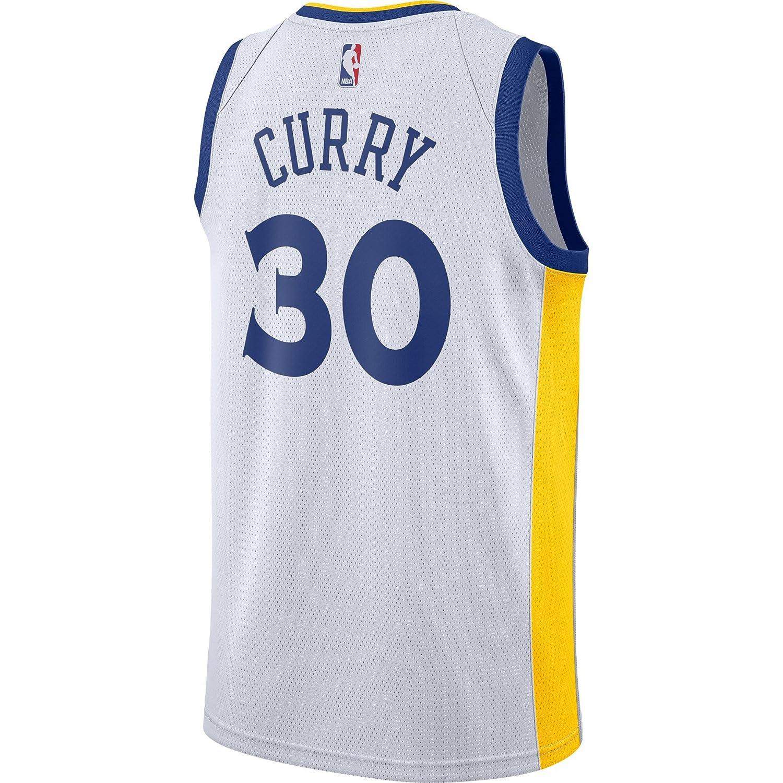 NBA GS Curry 30 Swingman Jersey De Hombre (Blanco, XXL): Amazon.es: Deportes y aire libre