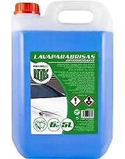 Motorkit LIM10326 Lavaparabrisas Anticongelante-10% de Invierno, Azul, 5 litros