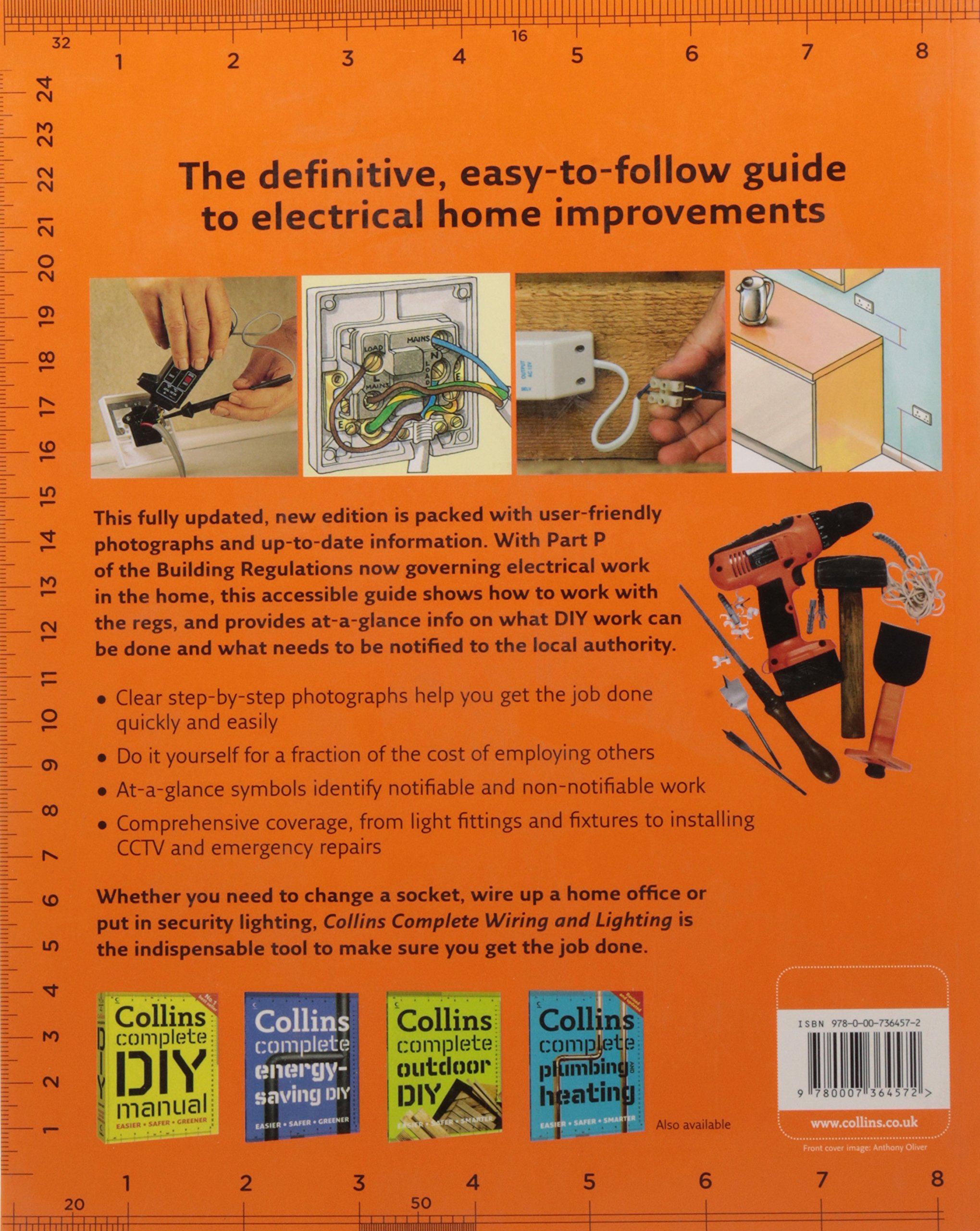 Collins Complete Wiring And Lighting Albert Jackson 17 Edition Regulations Book David Day 9780007364572 Books