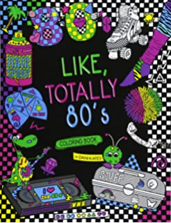Amazon Com Adult Coloring Books Color The 90 S The Ultimate 90 S