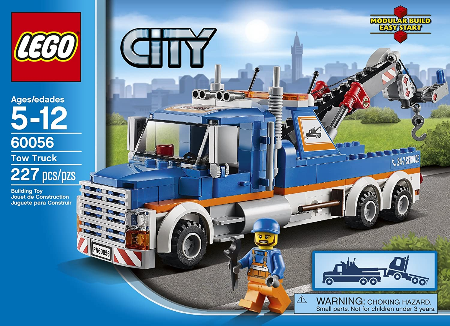Amazon Lego City Great Vehicles 60056 Tow Truck Toys Games