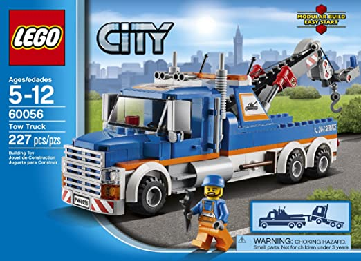 Amazon.com: LEGO City Great Vehicles 60056 Tow Truck: Toys & Games