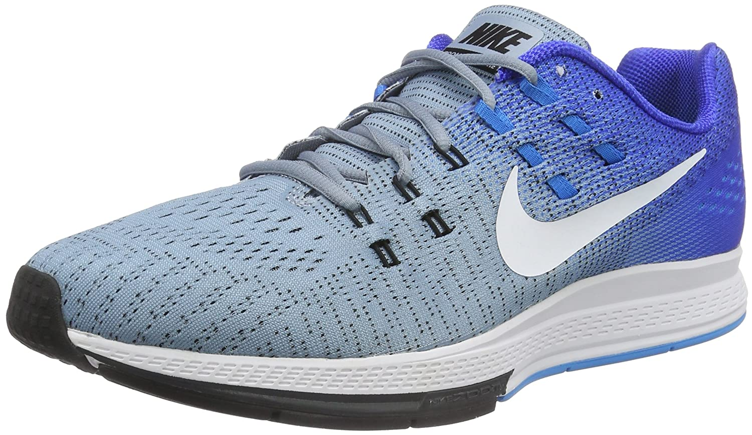 NIKE Mens Air Zoom Structure 19 Running Shoes B008O15D5O 8 D(M) US|Blue Grey/White-Racer Blue-Blue Glow