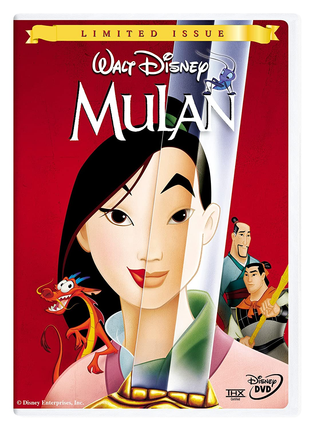 Amazon Com Mulan Disney Gold Classic Collection Ming Na Wen Eddie Murphy Bd Wong Lea Salonga June Foray Soon Tek Oh Freda Foh Shen James Hong Donny Osmond Pat Morita Harvey Fierstein Marni Nixon Barry