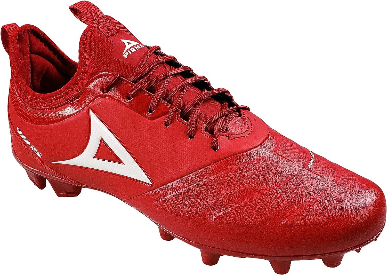Men/'s Pirma Soccer Cleats Gladiador Veneno Color Red Firm Ground