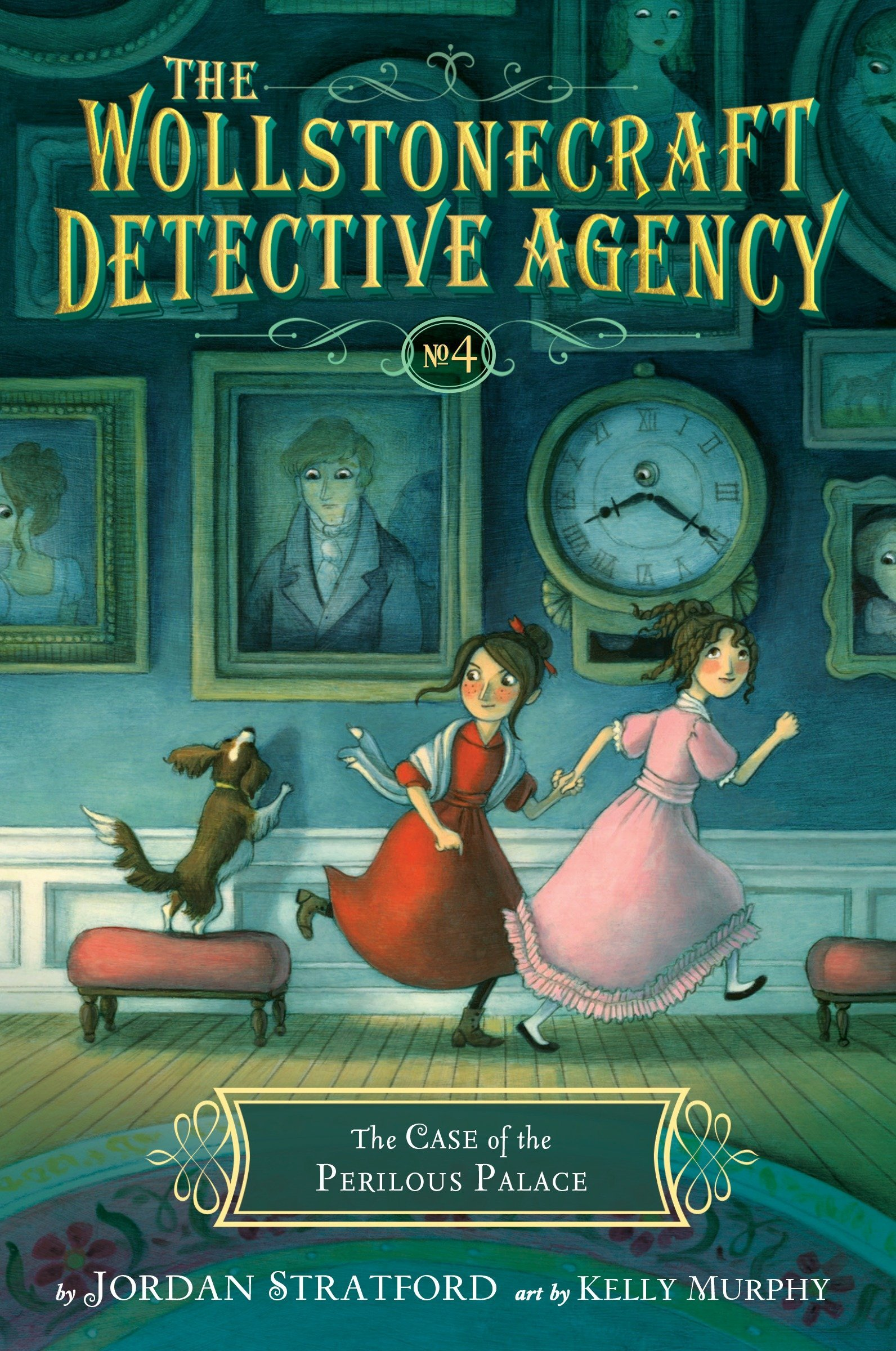 The Case of the Perilous Palace (The Wollstonecraft Detective Agency ...