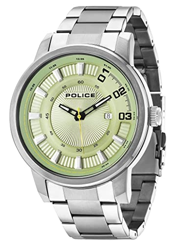 Police Reloj con Movimiento Cuarzo japonés Man Sunset 50 mm: Police: Amazon.es: Relojes