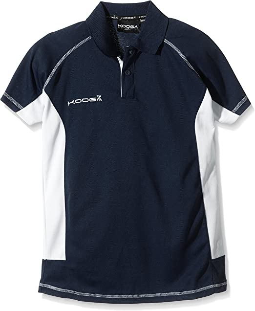 Kooga Elite Tech - Polo para niño (Talla L), Color Azul Marino y ...