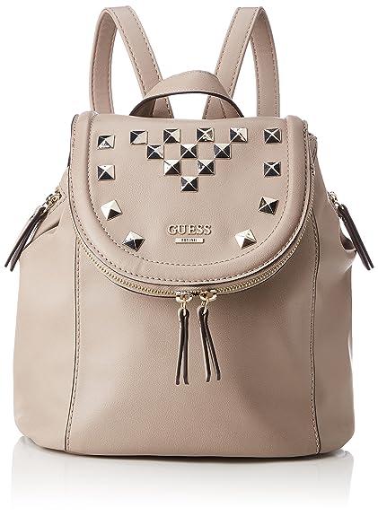 Hwvt6432310, Womens Backpack Handbag, Grey (Taupe), 12x25x25.5 cm (W x H L) Guess