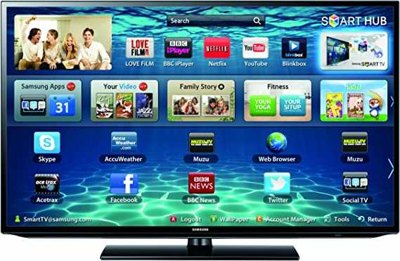 Televisor LED 32 Samsung UE32EH5300 Smart TV: Amazon.es: Electrónica