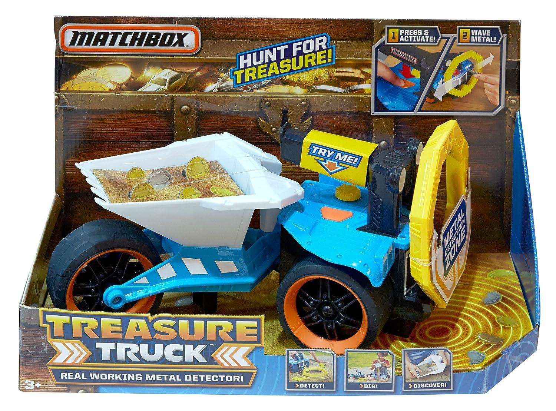 Mattel DJH50 vehículo de Juguete - Vehículos de Juguete, Camión, Matchbox, Treasure Truck, 3 año(s), Tailandia: Amazon.es: Juguetes y juegos