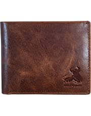 Bull Armour RFID Blocking Bifold Wallet For Men Soft Genuine Vintage Leather