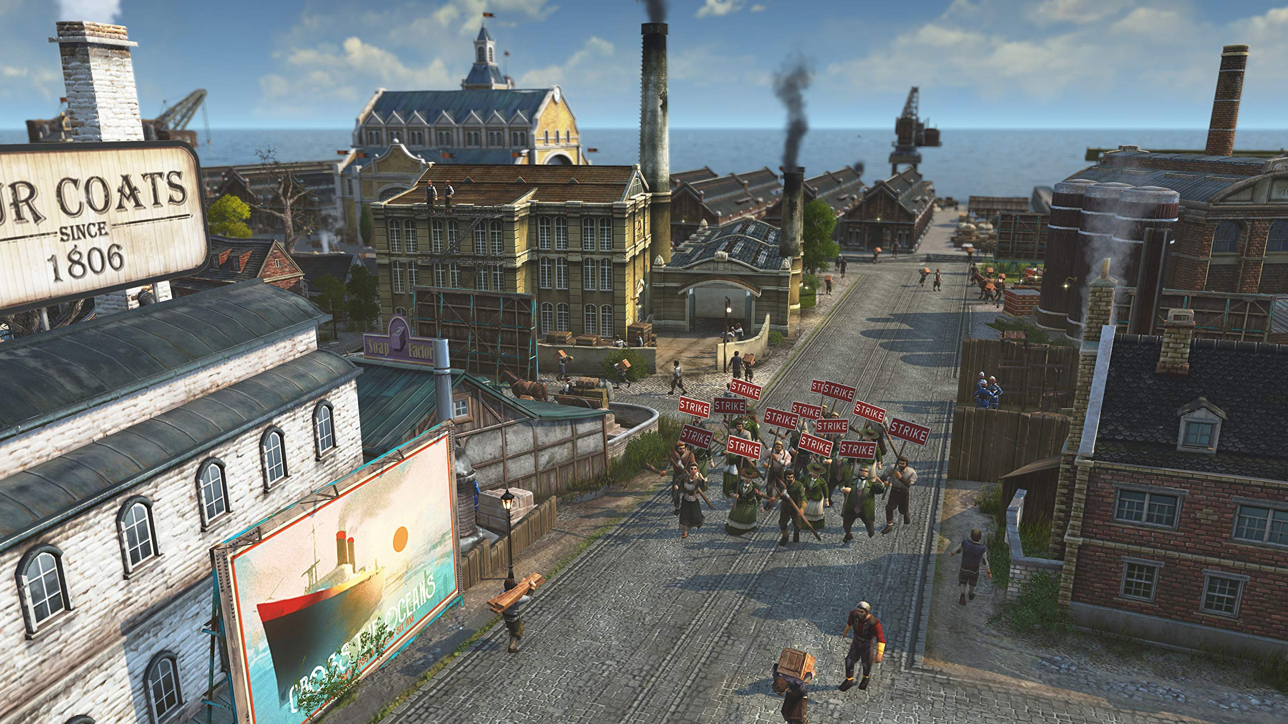 Amazon com: Anno 1800 [Online Game Code]: Video Games