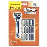 Gillette Fusion Men's Razor and 10 Razor Blades