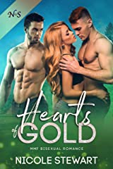 Hearts of Gold: MMF Bisexual Romance Kindle Edition
