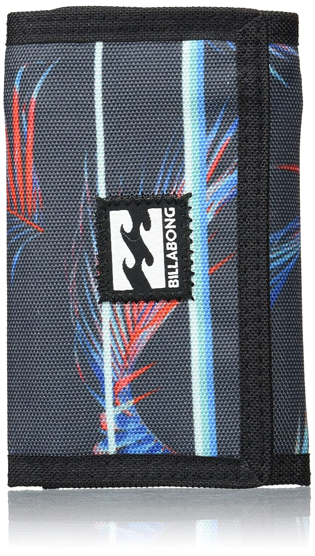 Billabong Atom Wallet Monedero, Hombre, Azul (Stripe), 10 x 2 x 12 cm (W x H x L)