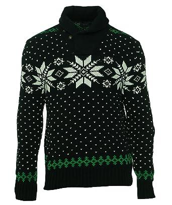Polo Ralph Lauren Men\u0027s Snowflake Shawl-Collar Ski Sweater