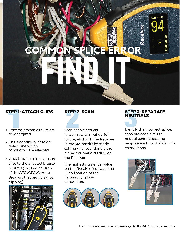 Amazon.com: Ideal SureTrace 61-955 - Juego rastreador de ...