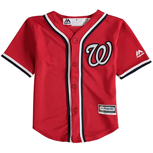 c776a0bf9b2 Bryce Harper Washington Nationals MLB Majestic Kids Red Alternate Cool Base  Replica Jersey (Kids 5