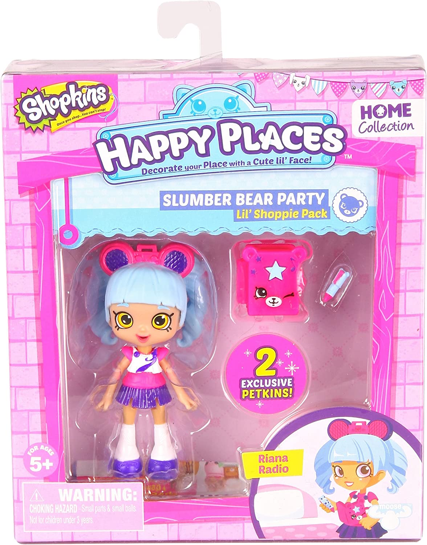 Shopkins Happy endroits Lil /'shoppie poupée Pack-Sara Sushi