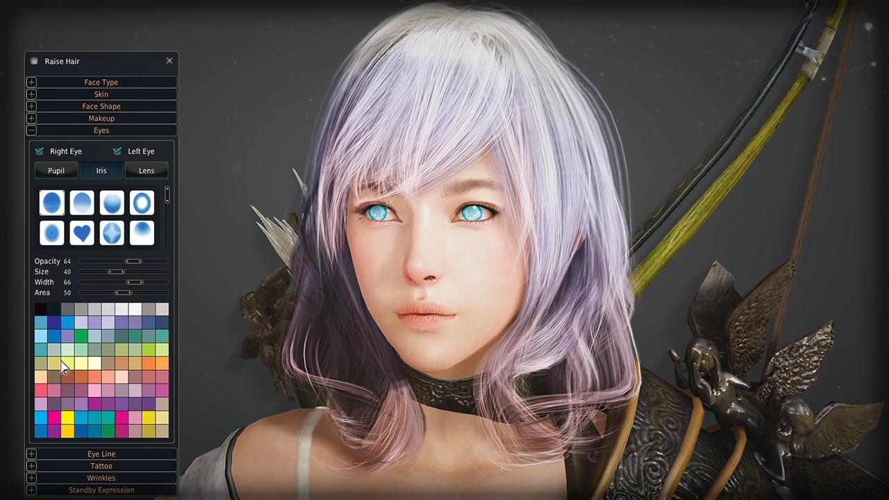 Black Desert Online - Hunter Character Creation