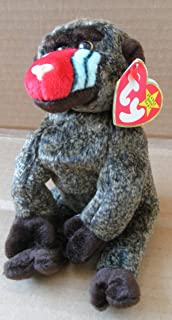 319a338fea39bf TY Beanie Babies Cheeks the Baboon Stuffed Animal Plush Toy - 7 inches tall