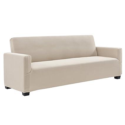 Neu.Haus]® Funda de sofá Color Arena para sofá de 140-210 cm ...