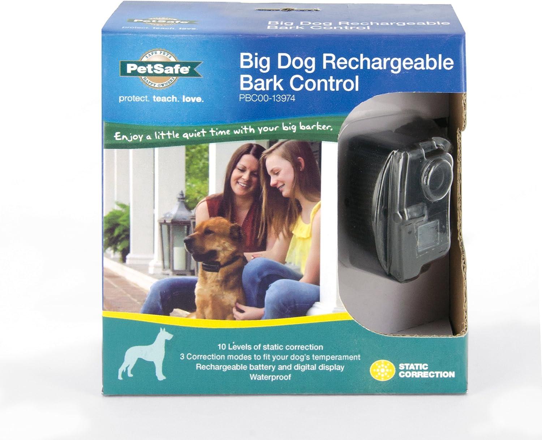 PetSafe Rechargeable Bark Control Collar Reduce Barking Waterproof