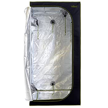 MILLIARD-D-Door-3x3-grow-tent