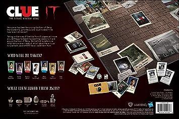 USAopoly Clue Stephen KingS IT Movie Edition Board Game: Amazon.es: Juguetes y juegos