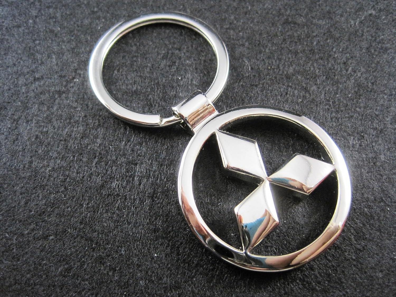 Llavero de metal compatible con Mitsubishi lla001-22