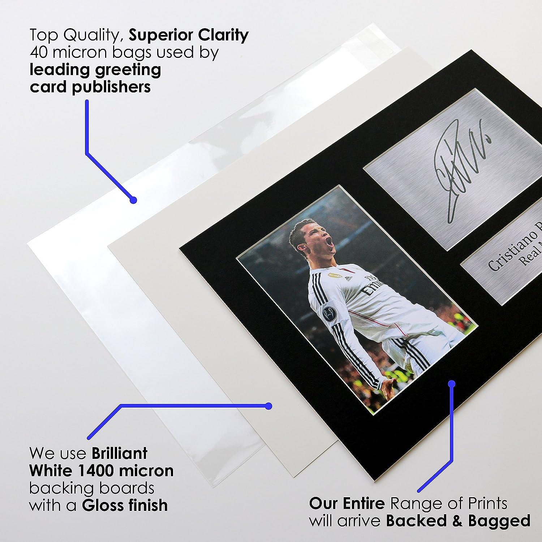 HWC Trading Liam Gallagher A4 Incorniciato Firmato Regalo Visualizzazione delle Foto Print Immagine Autografo Stampato per Oasis S Gli Appassionati di Musica