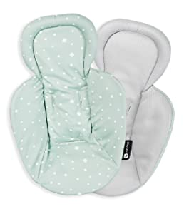 4moms rockaRoo and mamaRoo Infant Insert | for Baby, Infant, and Toddler | Machine Washable, Cool Mesh Fabric | Modern Design