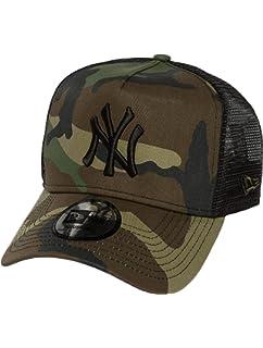 New Era Men s MLB Trucker NY Yankees Baseball Cap  Amazon.co.uk ... 77c17165ce4e9