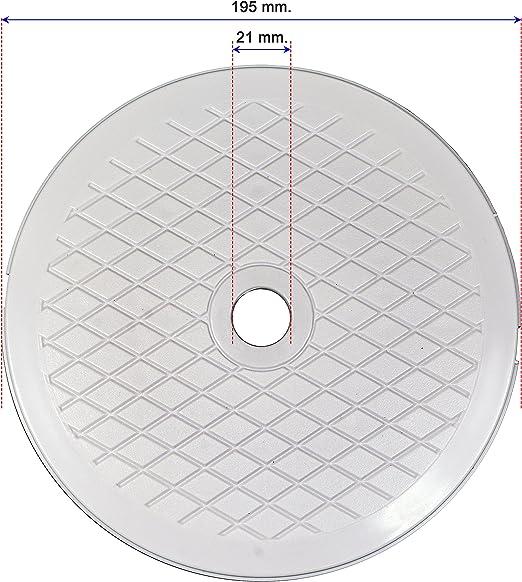 Decoytec Tapa Skimmer diametro 19, 5 para Piscinas Desmontables ...