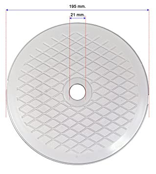 Decoytec Tapa Skimmer diametro 19, 5 para piscinas desmontables: Amazon.es: Jardín