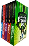 Frank Cottrell Boyce Collection 5 Books Set (Sputniks Guide to Life on Earth, Millions, Cosmic, The Astounding Broccoli Boy, Framed)