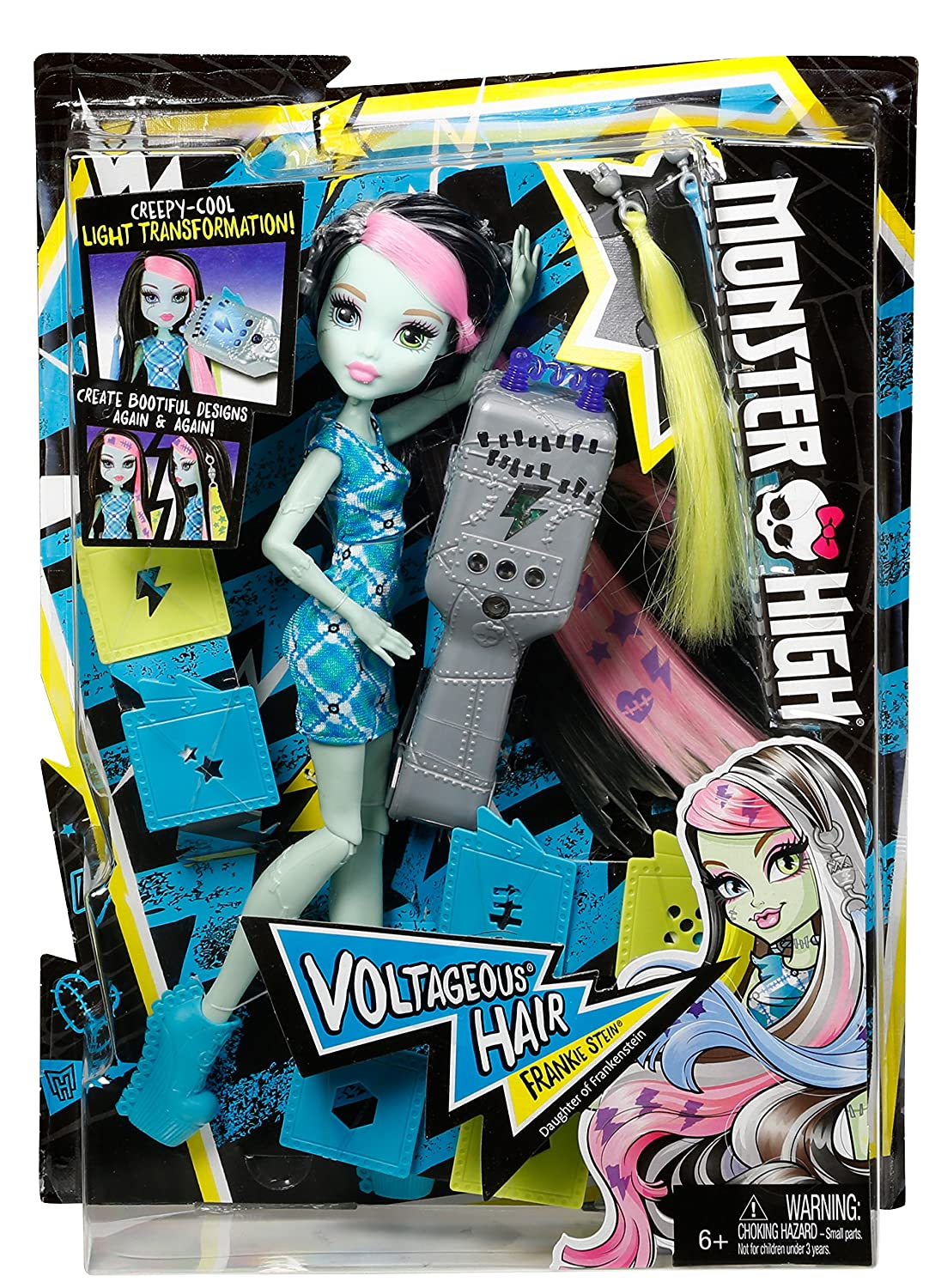 Monster High Frankie Cabello Monstruoso: Amazon.com.mx: Juegos y ...