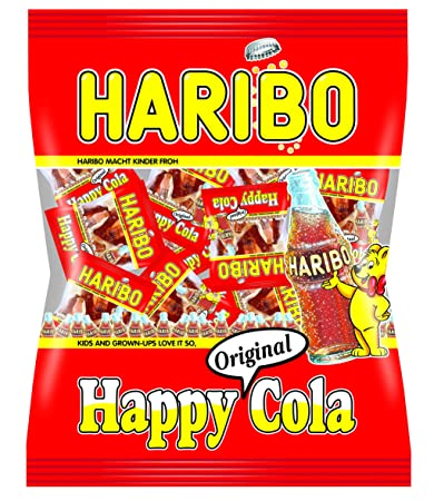 amazon com haribo mini happy cola 250g grocery gourmet food
