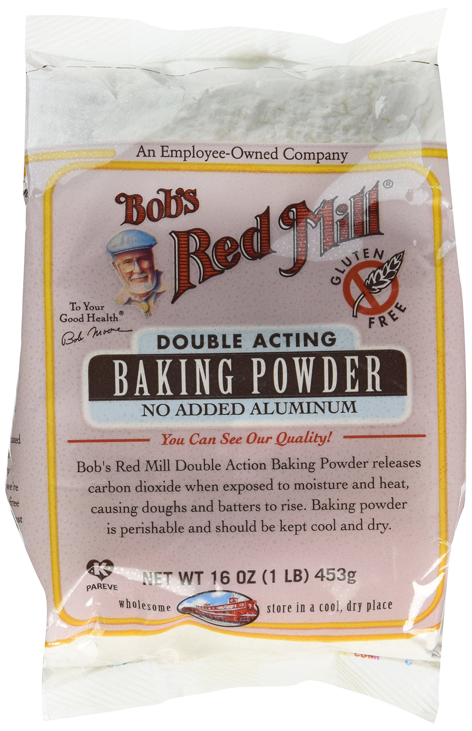 Bob's Red Mill Baking Powder, 16-Ounce (Pack of 4)