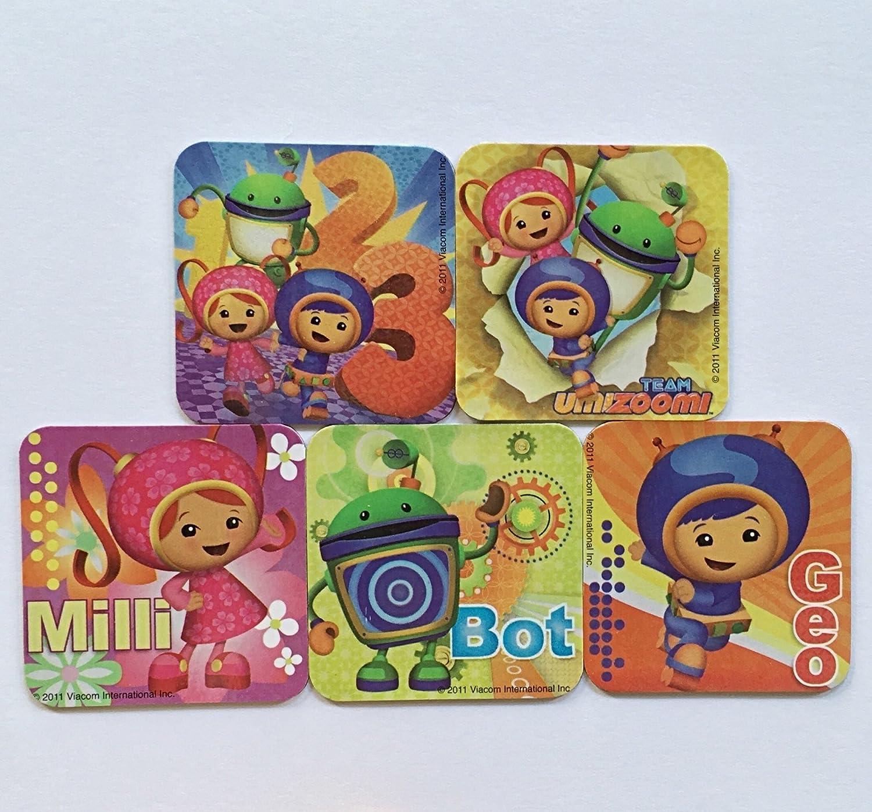Team Umizoomi Refrigerator Magnets, 5 Nickelodeon Fridge Set, Milli Geo Bot