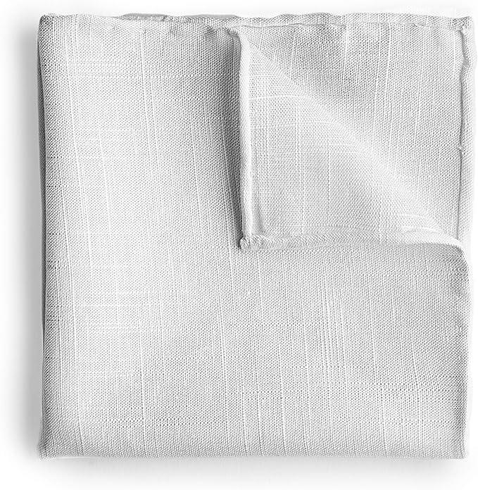 Goldsman Pañuelo de hombre de algodón/lino enrollado a mano en ...