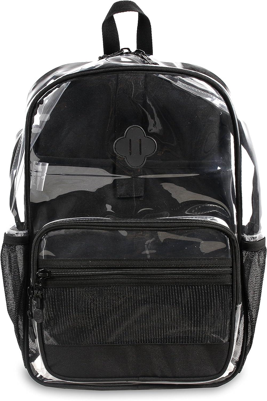J World New York Clear Transparent Backpack