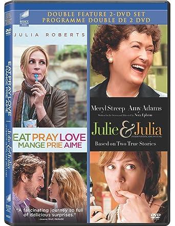 Amazon com: Eat Pray Love / Julie and Julia (Double Feature