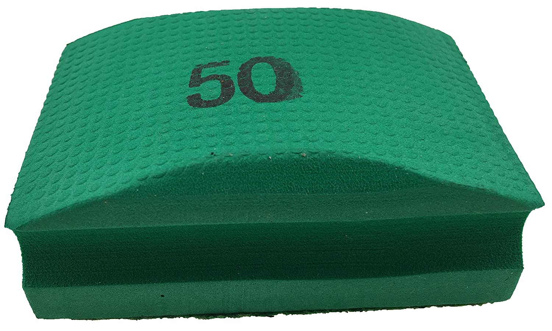 Pro Diamond hand pad/grinding sponge 50 grit for grinding, deburring and polishing tile edges Prodiamant