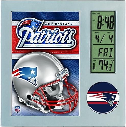 Wincraft New England Patriots Desk Clock