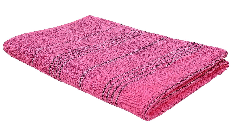 BETZ Toalla de baño Toalla de Playa Líneas 100% algodón veraniegos tamaño 90x180 cm Color Rosa: Amazon.es: Hogar