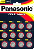 Panasonic Specialist Lithium Coin Batteries CR2025 x 12